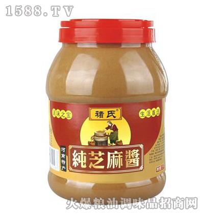 褚氏-纯芝麻酱-3kg