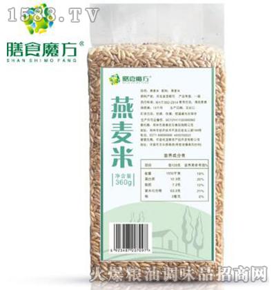 燕麦米360g-膳食魔方