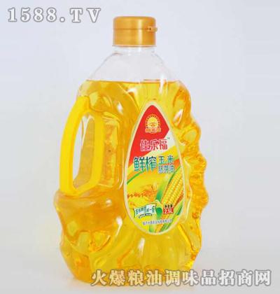 鲜榨玉米胚芽油2.5L-佳乐福