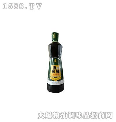 自然鲜酱油500ml-吉成