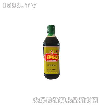 一品鲜酱油500ml-吉成