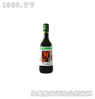 鲜蘸酱油500ml-吉成