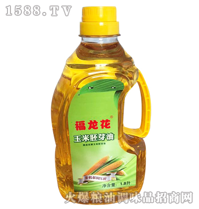 玉米胚芽油1.8升-福龙花