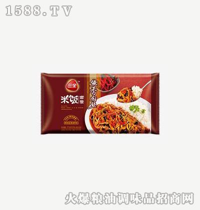 鱼香肉丝方便米饭375g-三全