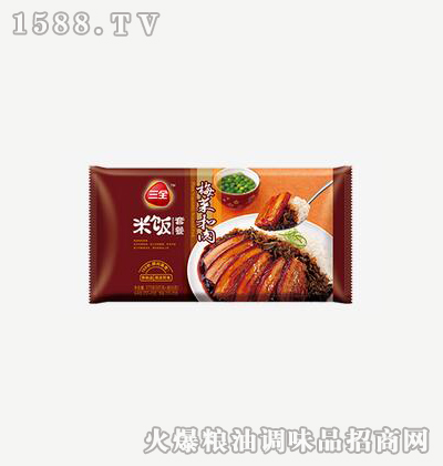 梅菜扣肉方便米饭375g-三全