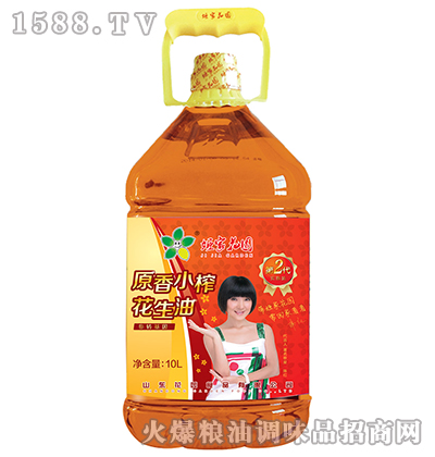 原香小榨花生油10L-姬家花园