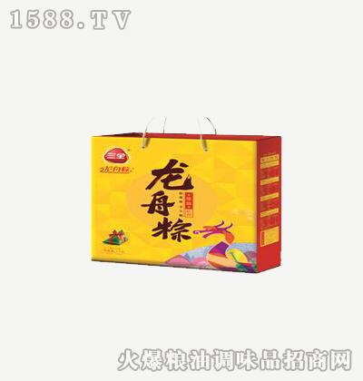 龙舟粽臻情礼粽1000g-三全