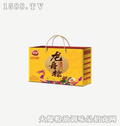 龙舟粽三心三意1640g-三全