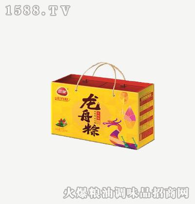 龙舟粽全是福1000g-三全