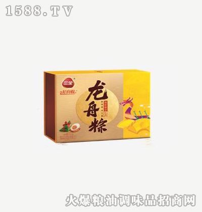 龙舟粽锦程臻享1400g-三全