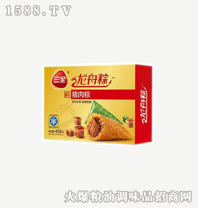 龙舟粽猪肉400g-三全