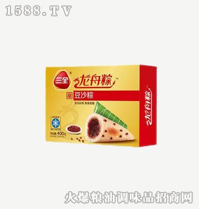 龙舟粽豆沙400g-三全