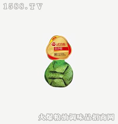 龙舟粽豆沙520g-三全