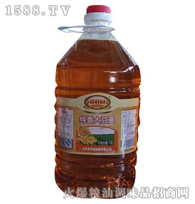 纯香大豆油10L-富桂园