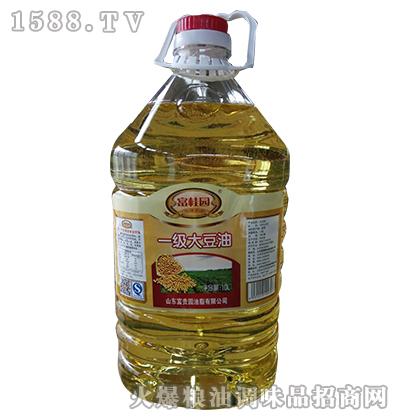 一级大豆油10L-富桂园