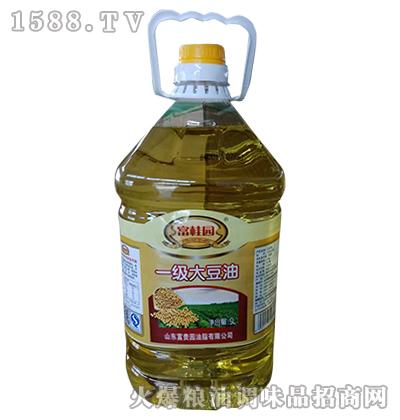 一级大豆油5L-富桂园