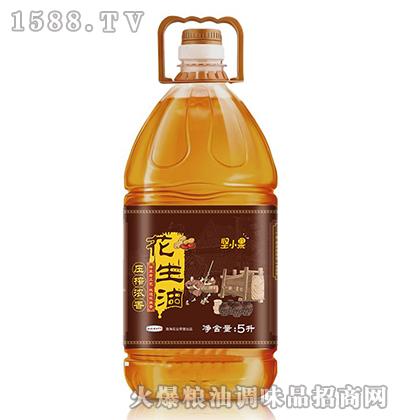 压榨浓香花生油5L-坚小果