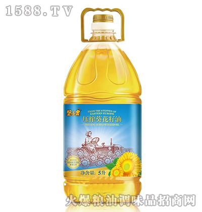压榨葵花籽油5L-坚小果