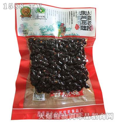 永川豆豉太婆老窖豆豉140g-安君