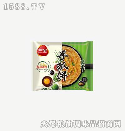 手抓饼葱香320g-三全