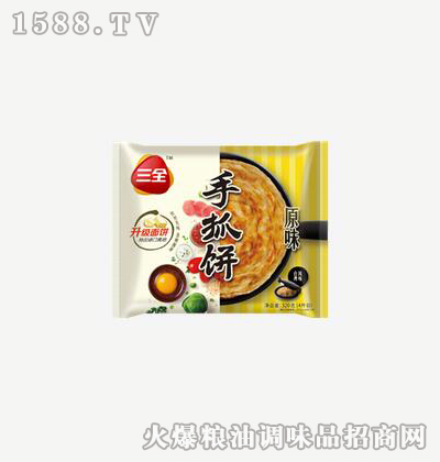 手抓饼原味320g-三全