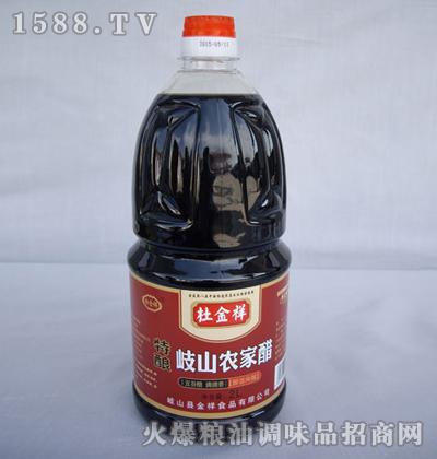 特酿农家醋2l-杜金祥