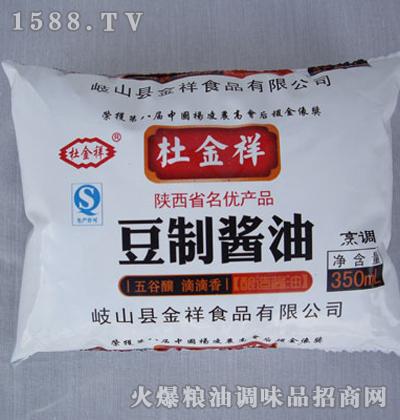 豆制酱油350mL-杜金祥
