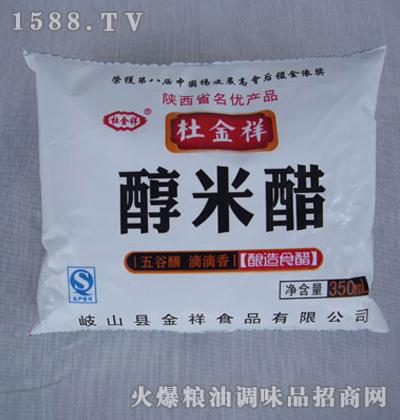 醇米醋350mL-杜金祥