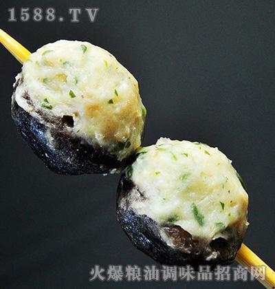 香菇荠菜串-百洋