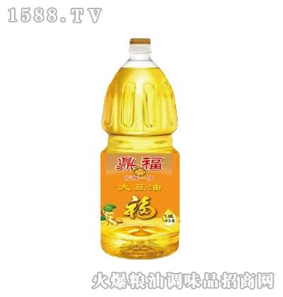 精炼一级大豆油1.8L-鼎福