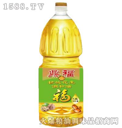 核桃花生调和油1.8L-鼎福