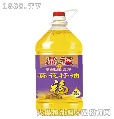 非转基因葵花籽油5L-鼎福
