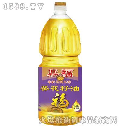 非转基因葵花籽油1.8L-鼎福