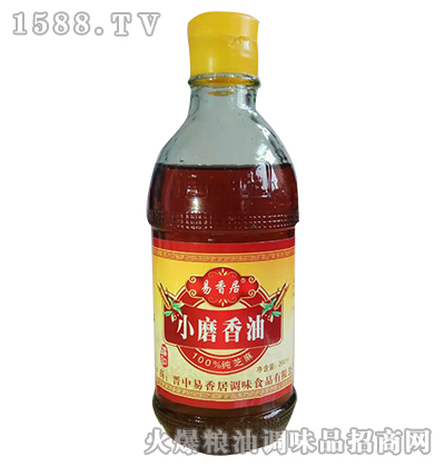 纯芝麻香油200ml-易香居