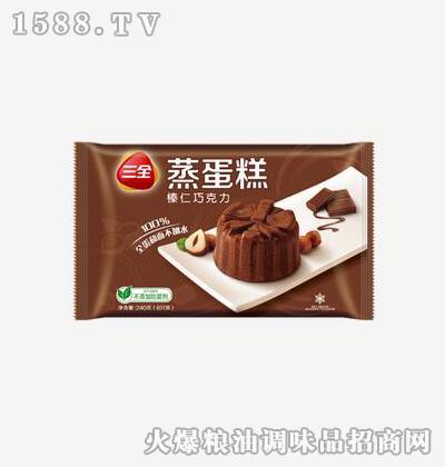 蒸蛋糕榛仁巧克力240g-三全