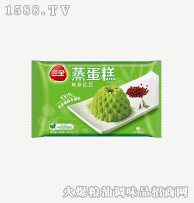 抹茶红豆240g-三全
