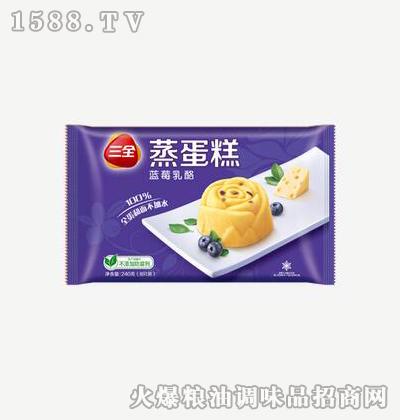 蓝莓乳酪240g-三全