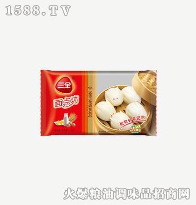 面点坊玉兔奶黄包375g-三全
