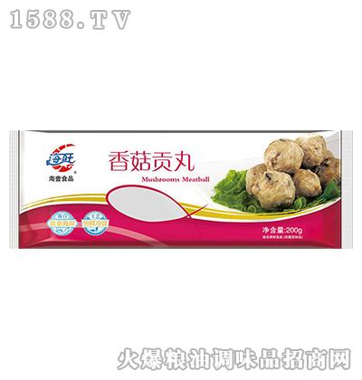 香菇贡丸2.5kg-海壹