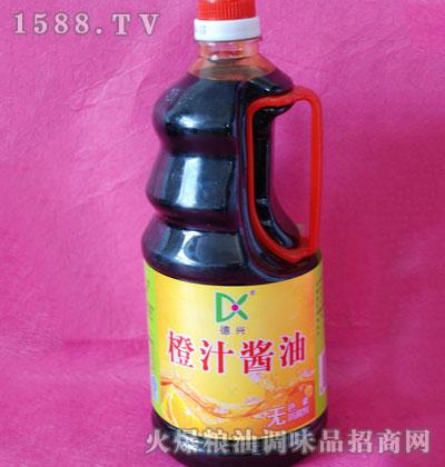 德兴橙汁酱油1.28L