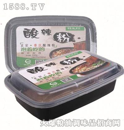 酸辣粉盒装240g-转龙村