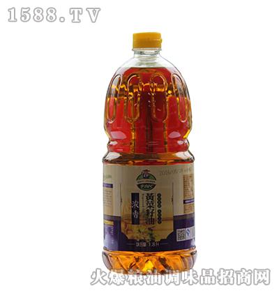辛农民浓香黄菜籽油1800ml