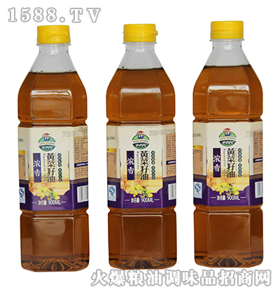 辛农民浓香黄菜籽油900ml