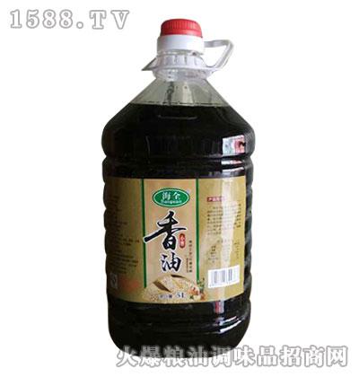 海全小磨香油5L