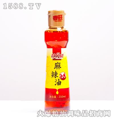 麻辣油210ml-牡丹桥