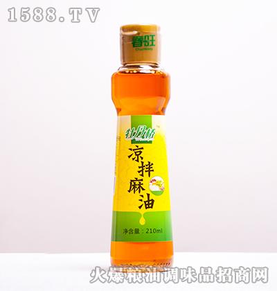 凉拌麻油210ml-牡丹桥
