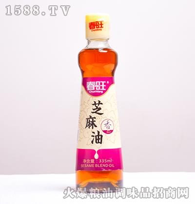 芝麻香油335ml-春旺
