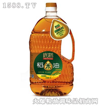 鹿鹤稻米油1.8L