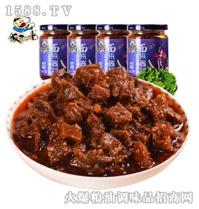 饭扫光香菇牛肉酱200gX4瓶