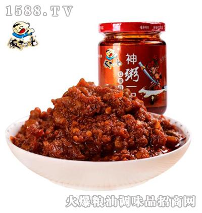 饭扫光红椒豆豉酱200g